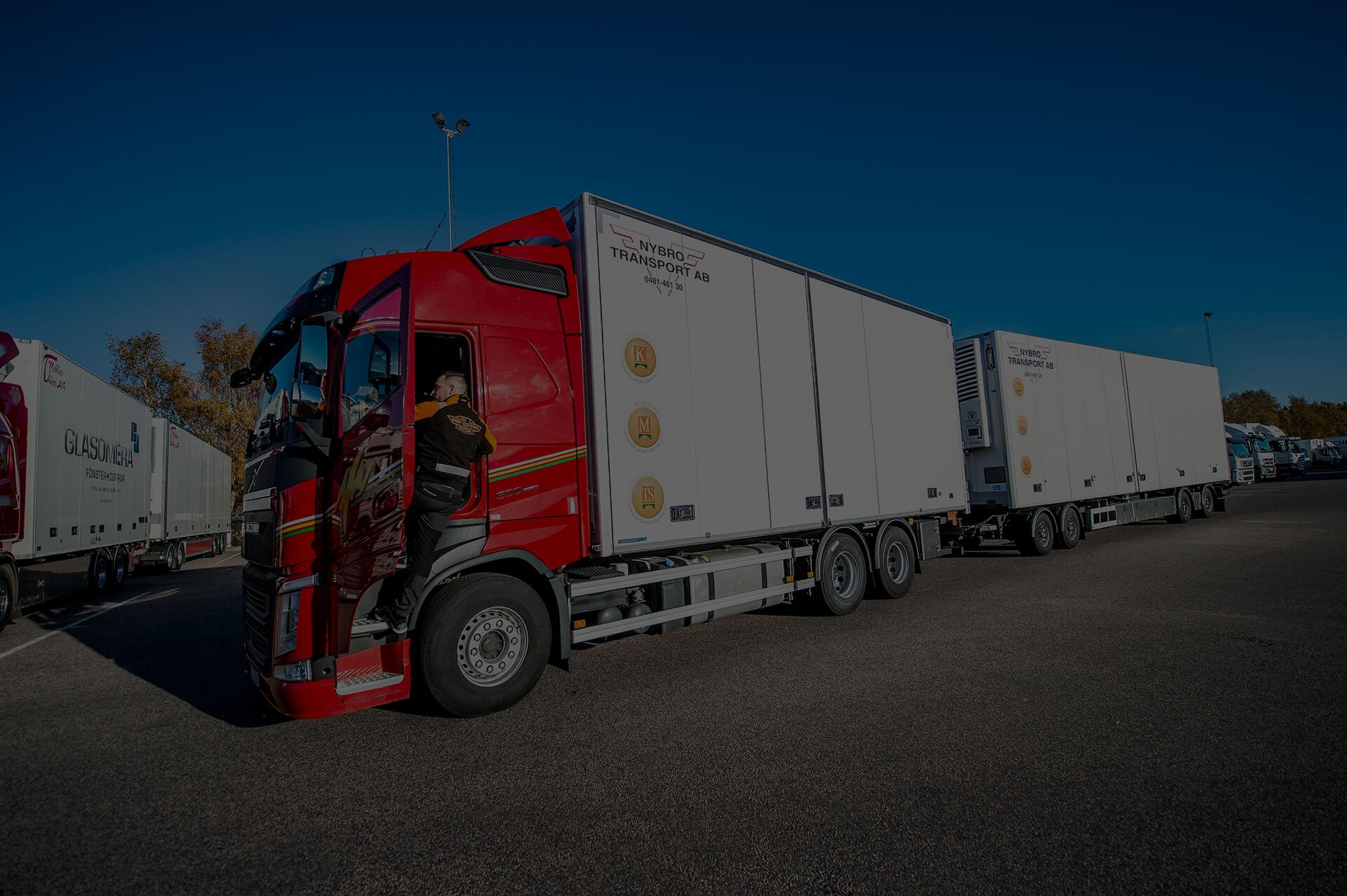 Rekrytera professionell personal för dina godstransporter